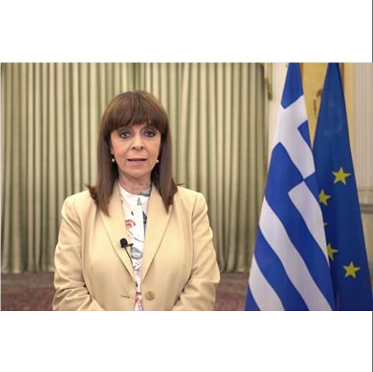 Η Α.Ε. η Πρόεδρος της Δημοκρατίας Κατερίνα Σακελλαροπούλου μιλά για το πρόγραμμα WOMENTORS